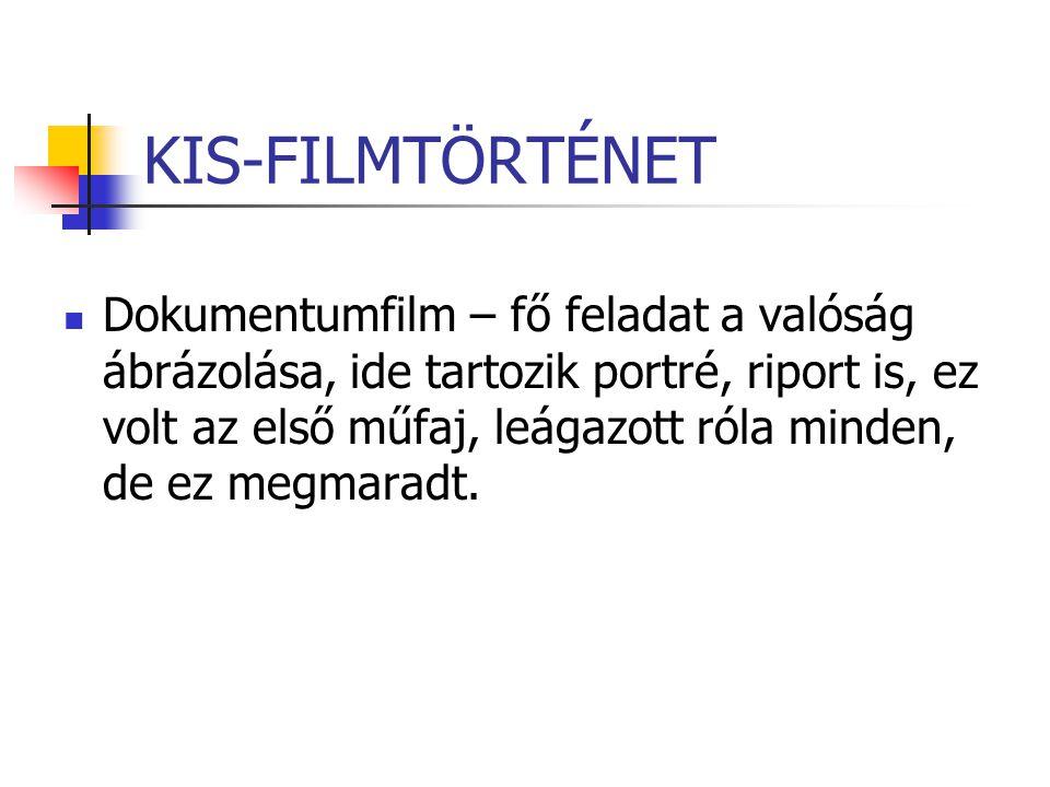 KIS-FILMTÖRTÉNET