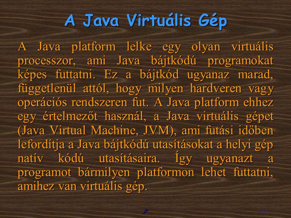 A Java Virtuális Gép