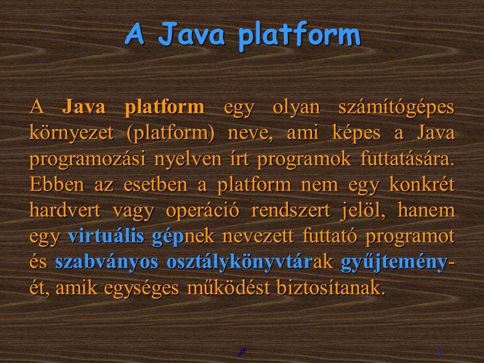 A Java platform