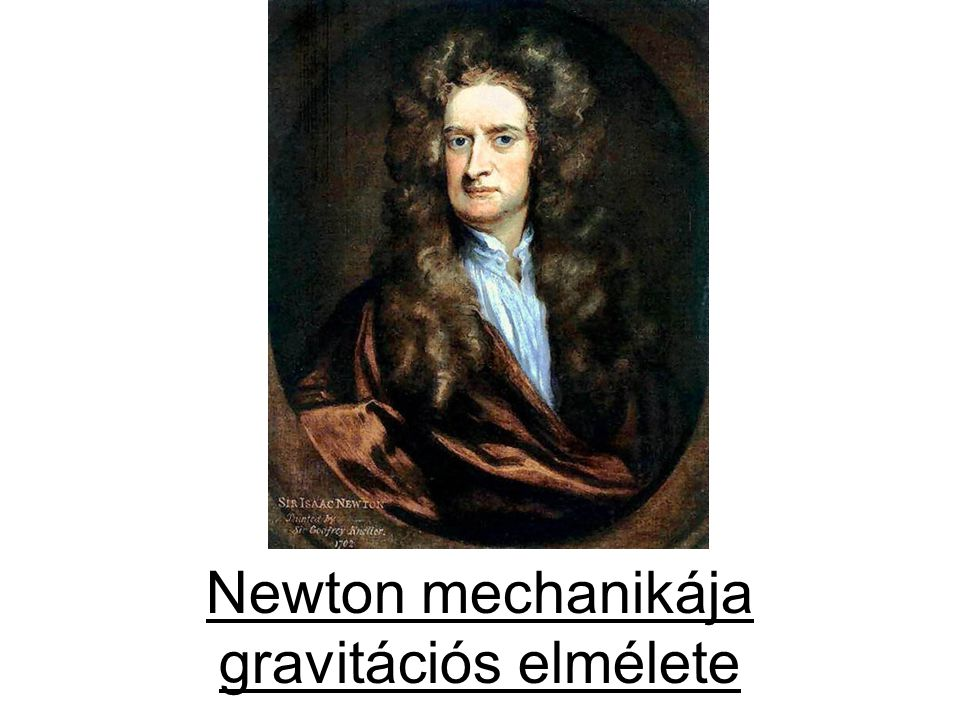Newton mechanikája gravitációs elmélete
