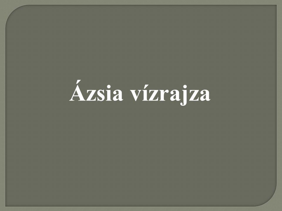 Ázsia vízrajza