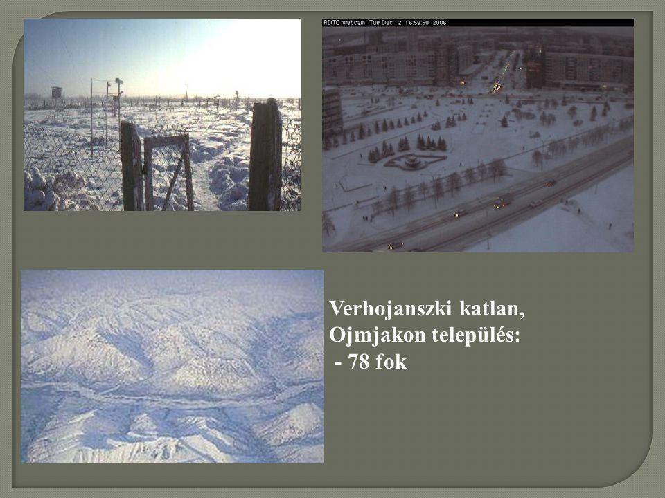 Verhojanszki katlan, Ojmjakon település: