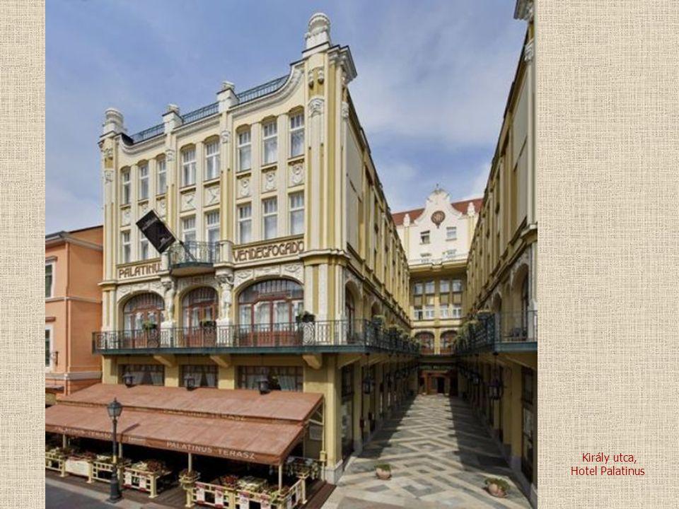 Király utca, Hotel Palatinus