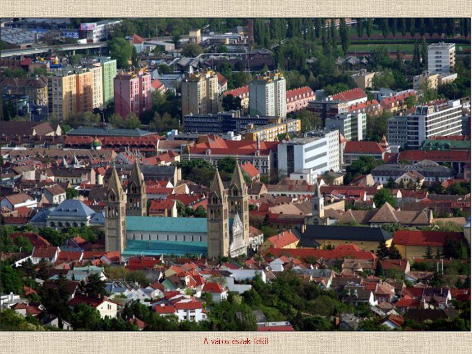 A város észak felől