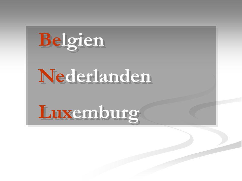 Belgien Nederlanden Luxemburg