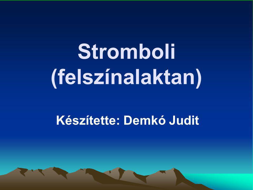 Stromboli (felszínalaktan)