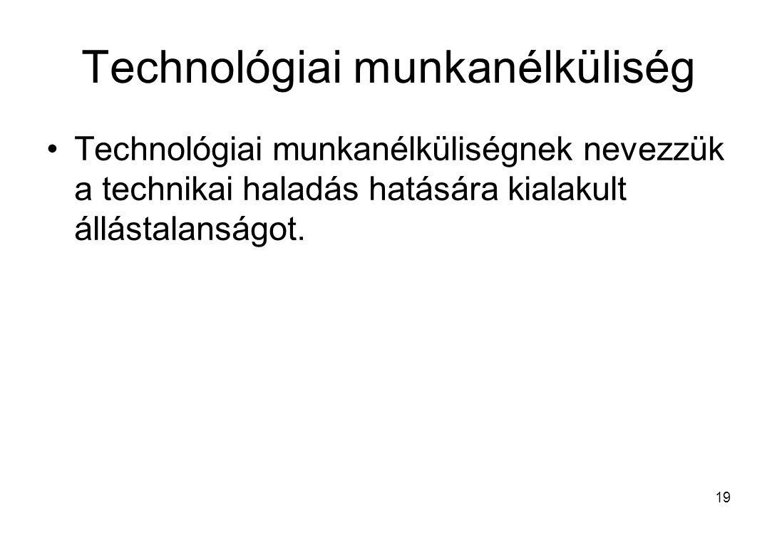 Technológiai munkanélküliség
