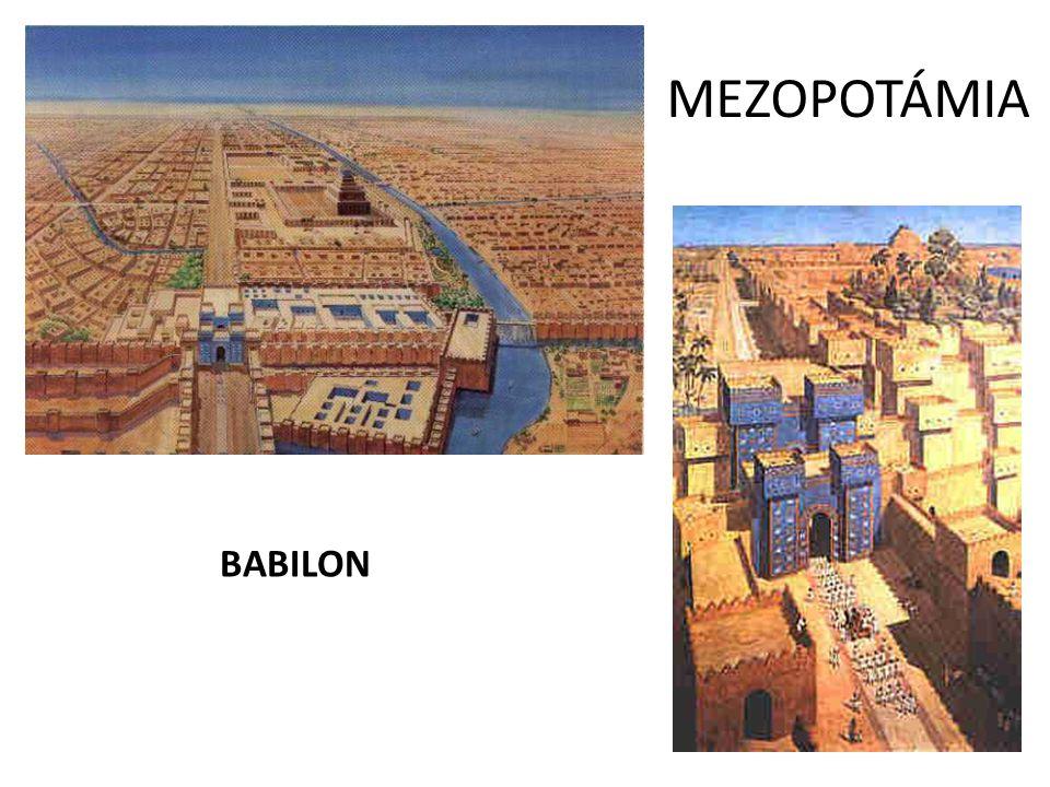 MEZOPOTÁMIA BABILON
