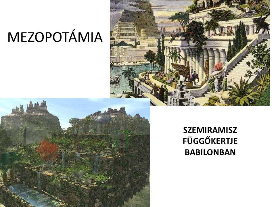 SZEMIRAMISZ FÜGGŐKERTJE BABILONBAN