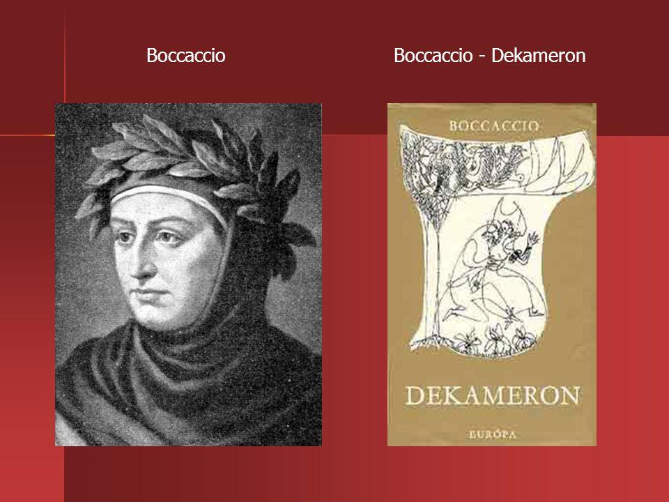 Boccaccio Boccaccio - Dekameron