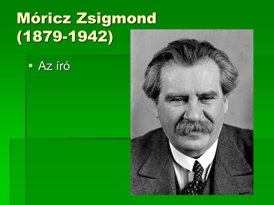 Móricz Zsigmond (1879-1942) Az író