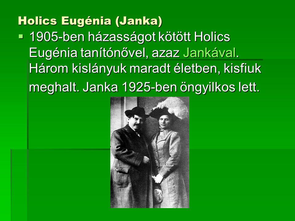 Holics Eugénia (Janka)
