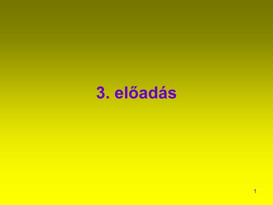 3. előadás