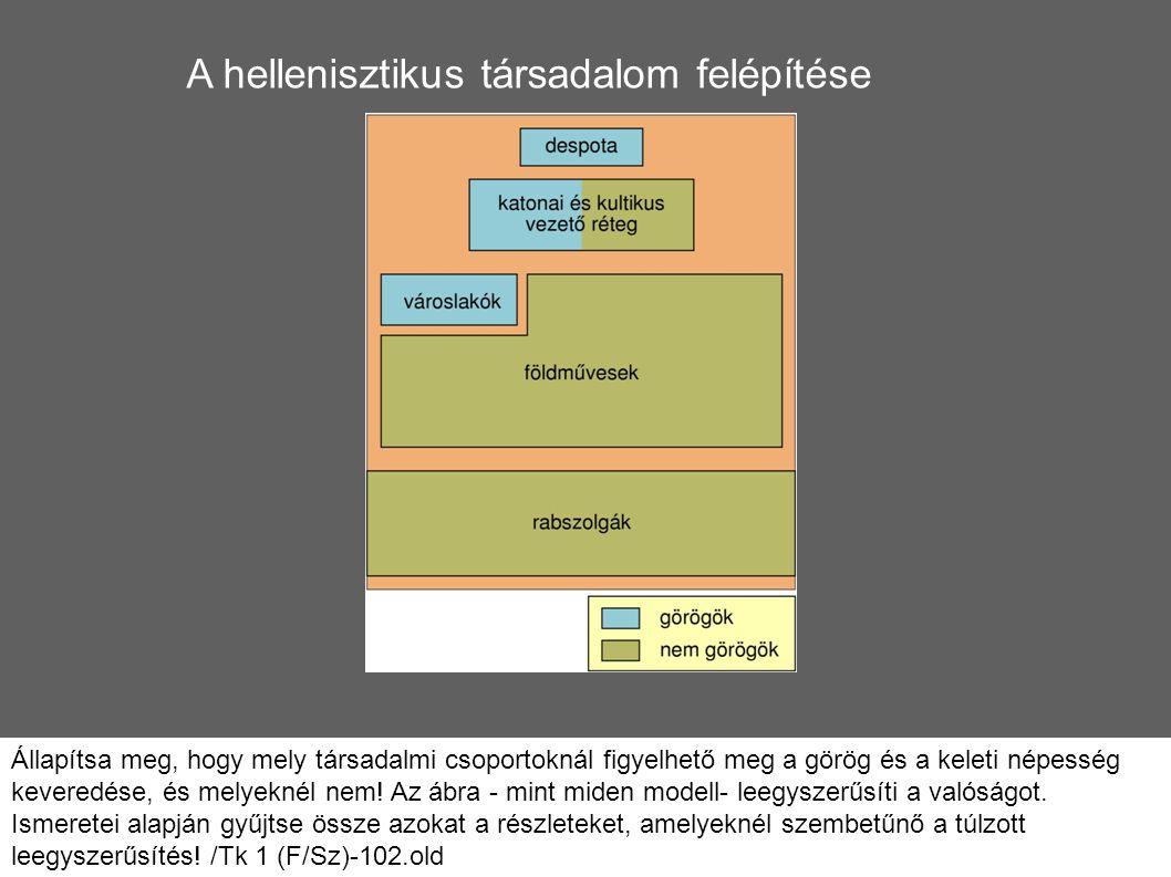 A hellenisztikus társadalom felépítése