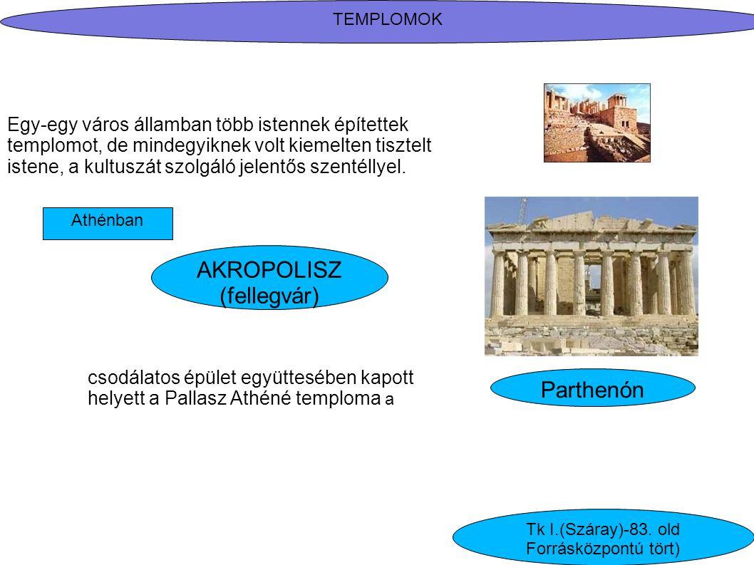 AKROPOLISZ (fellegvár) Parthenón