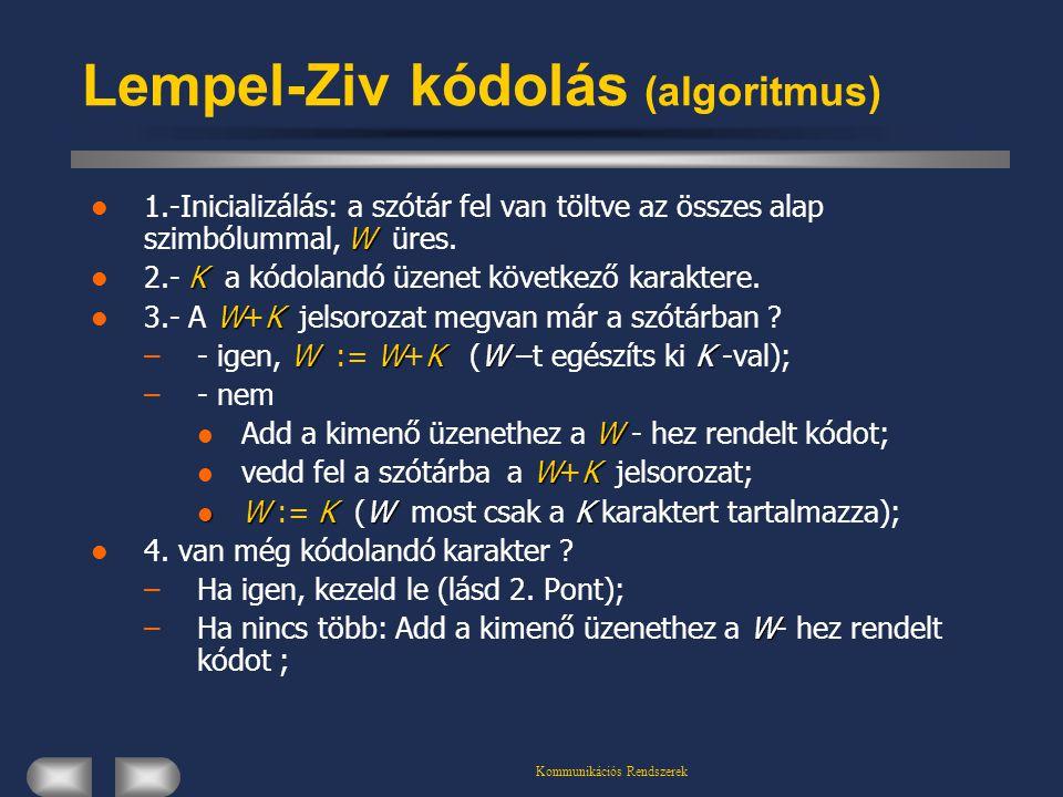Lempel-Ziv kódolás (algoritmus)