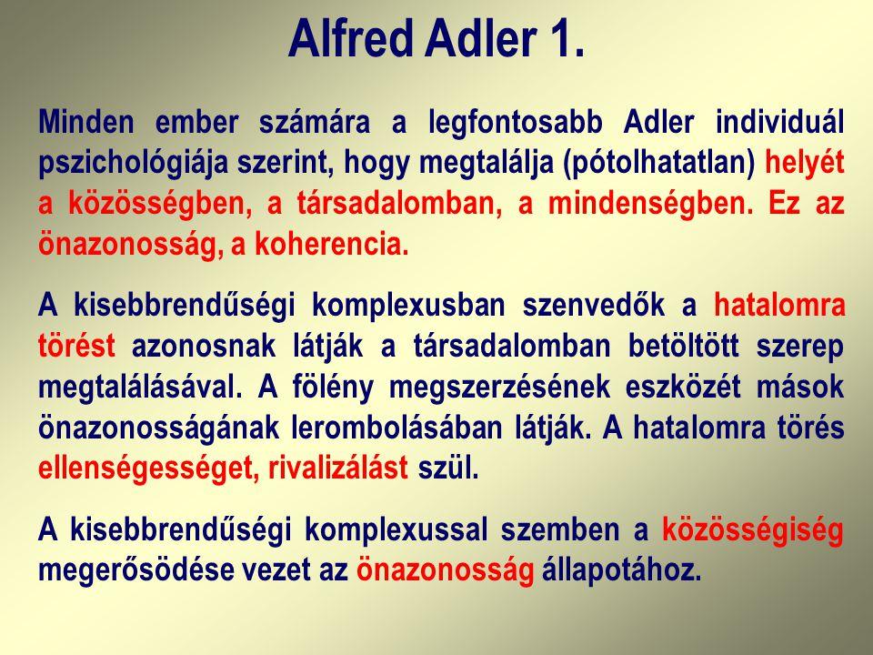 Alfred Adler 1.