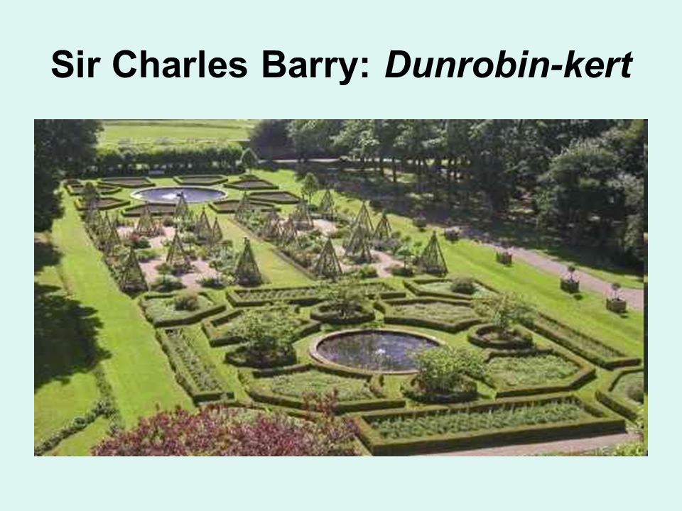 Sir Charles Barry: Dunrobin-kert