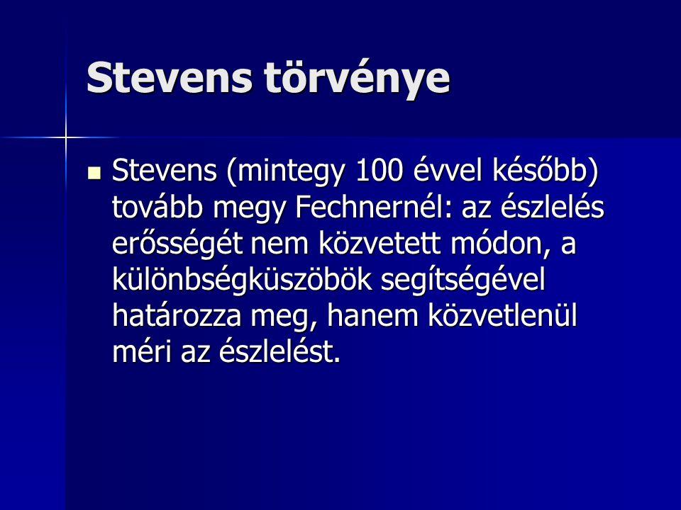 Stevens törvénye
