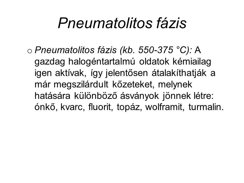 Pneumatolitos fázis