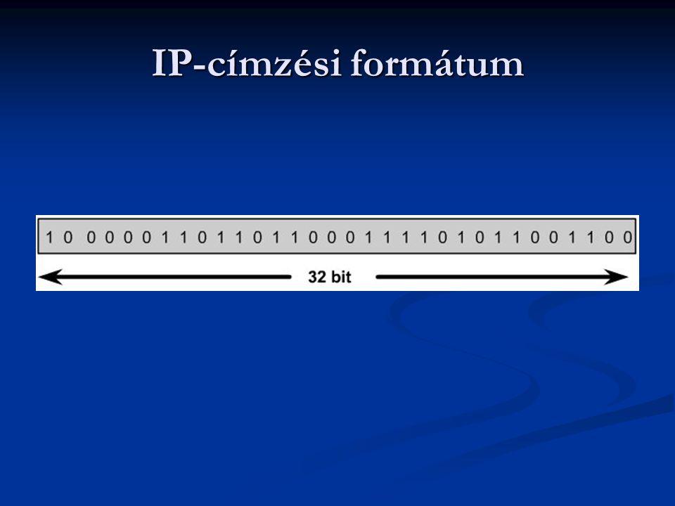 IP-címzési formátum