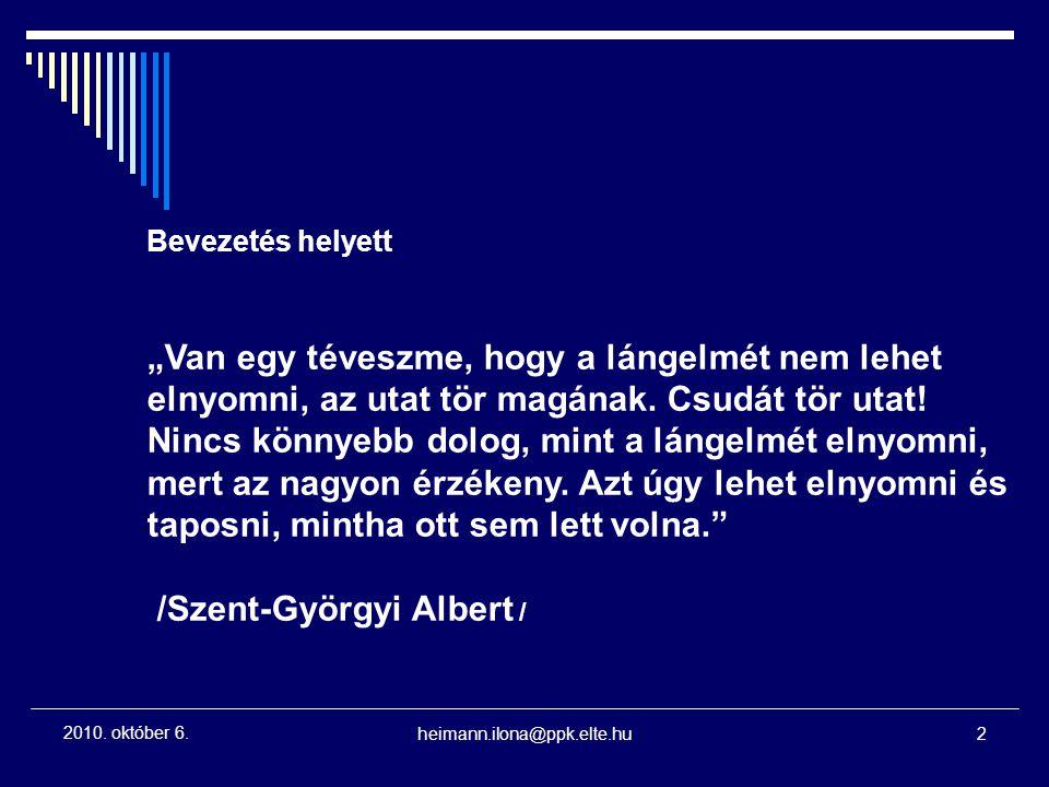 /Szent-Györgyi Albert /