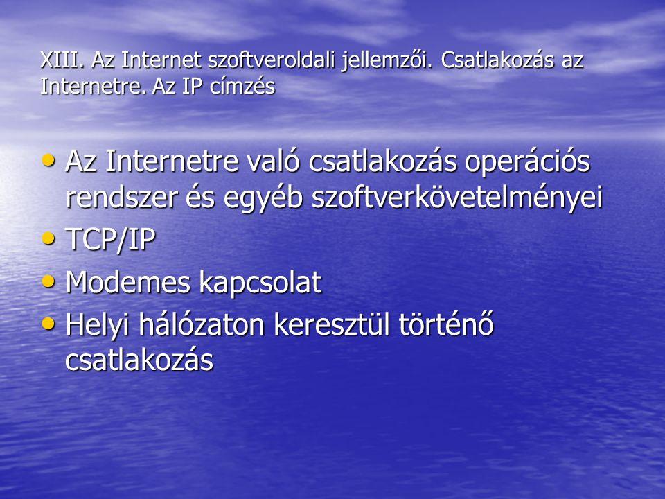 Helyi hálózaton keresztül történő csatlakozás