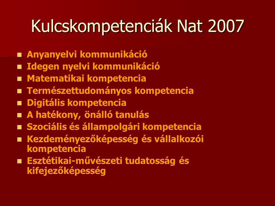Kulcskompetenciák Nat 2007