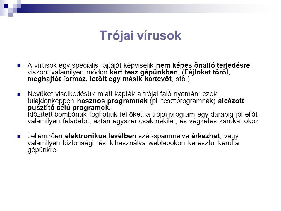 Trójai vírusok