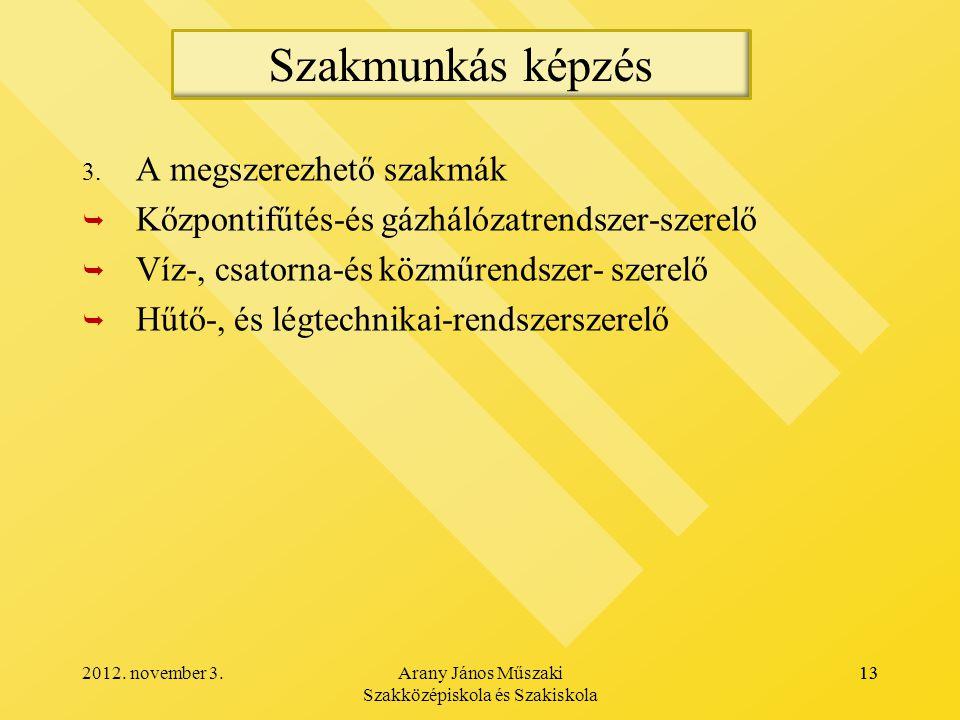 Arany János Műszaki Szakközépiskola és Szakiskola