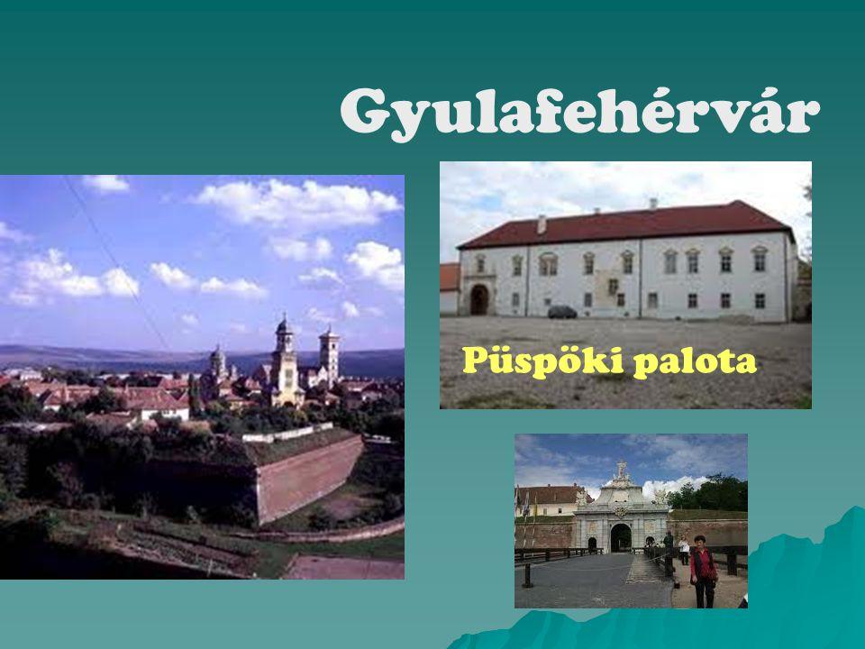 Gyulafehérvár Püspöki palota