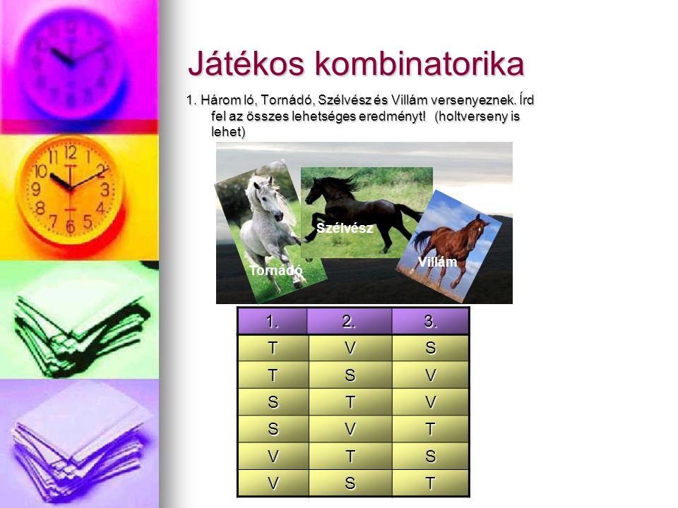 Játékos kombinatorika