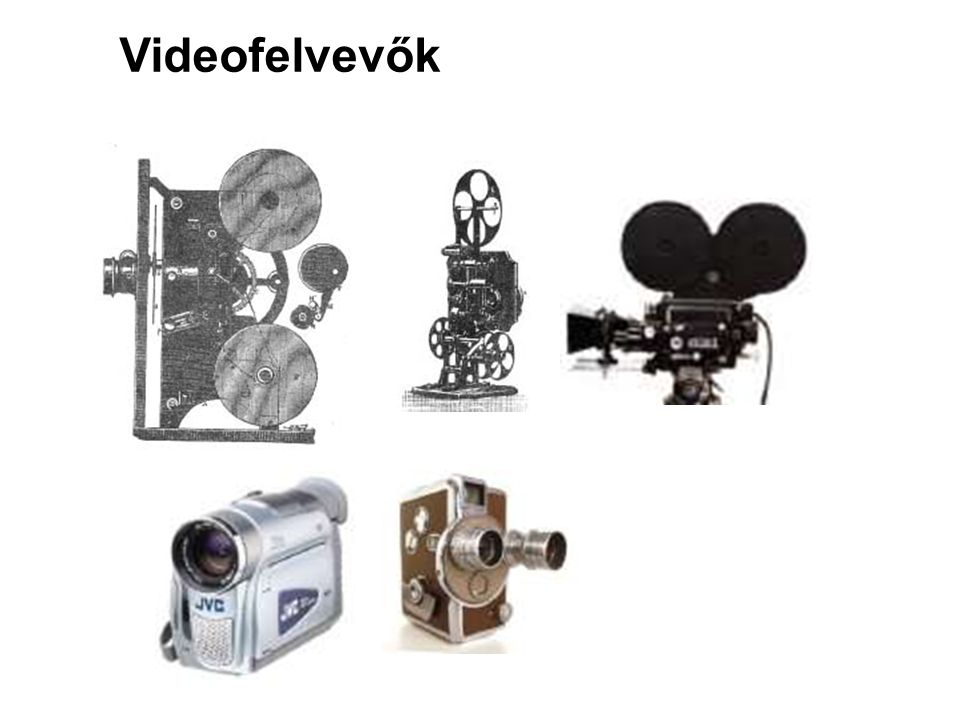 Videofelvevők