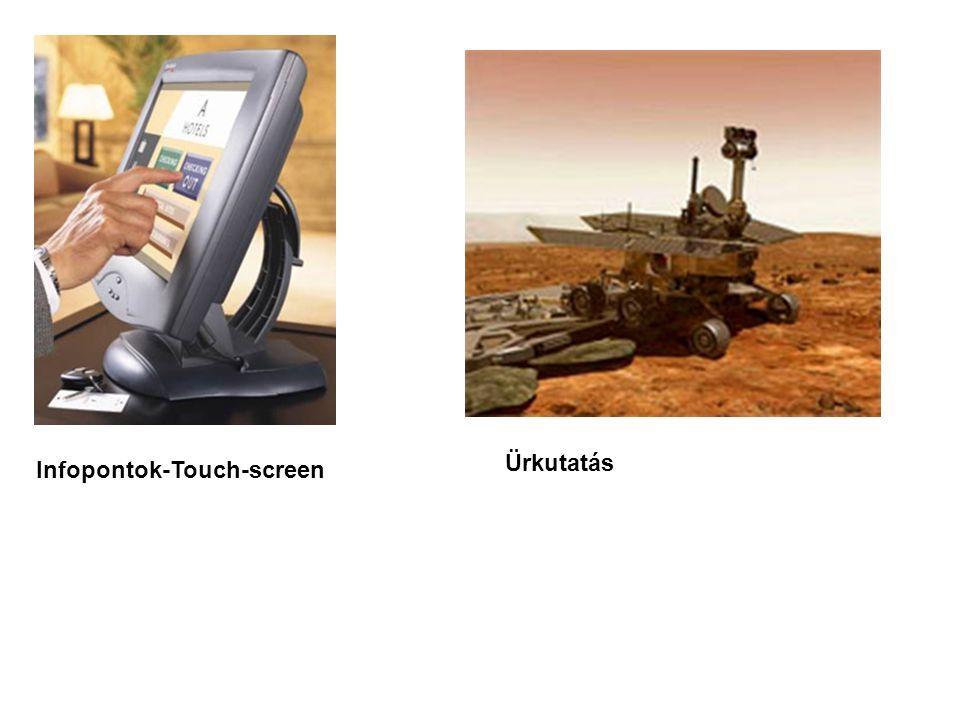 Ürkutatás Infopontok-Touch-screen