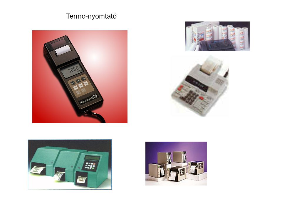 Termo-nyomtató