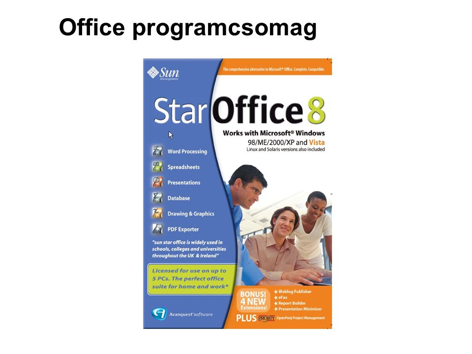 Office programcsomag