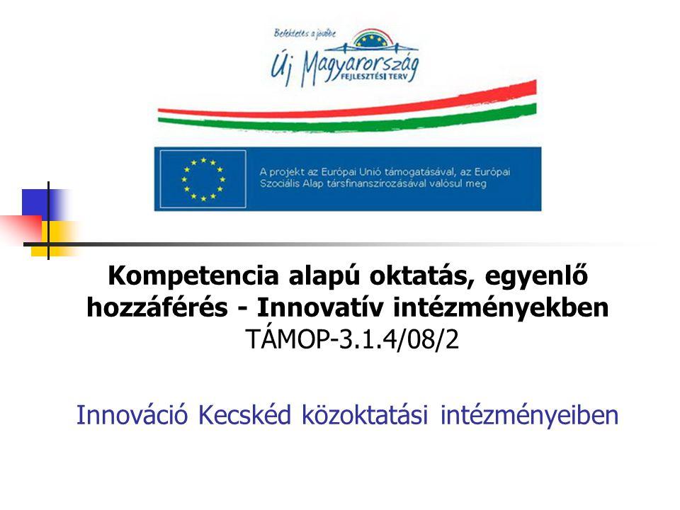 Innováció Kecskéd közoktatási intézményeiben