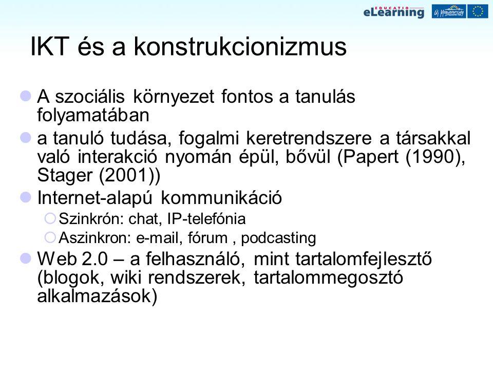 IKT és a konstrukcionizmus