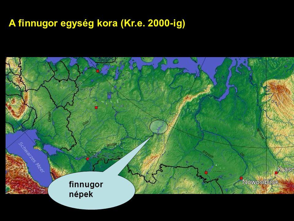 A finnugor egység kora (Kr.e. 2000-ig)