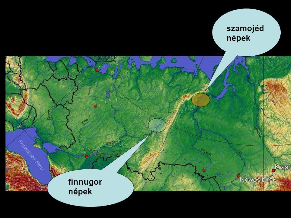 szamojéd népek finnugor népek