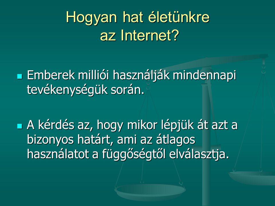 Hogyan hat életünkre az Internet