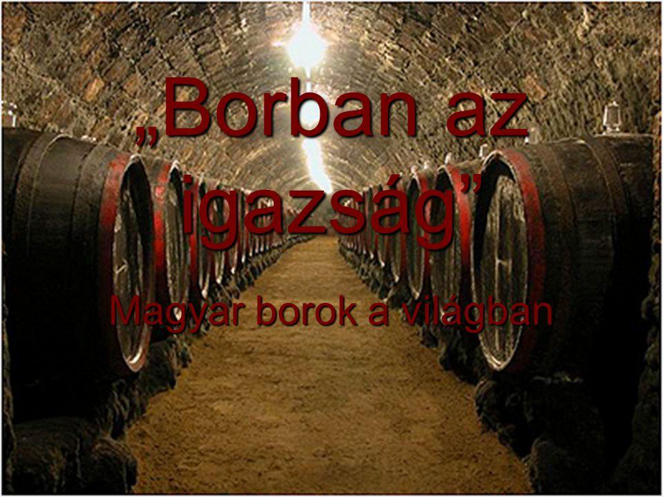 Magyar borok a világban