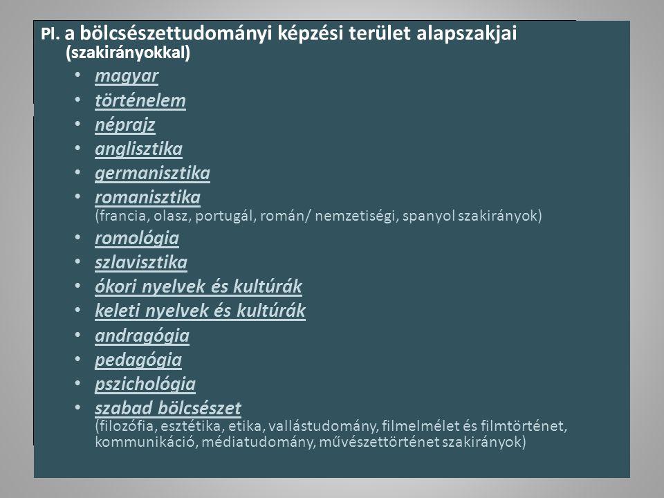 ókori nyelvek és kultúrák keleti nyelvek és kultúrák andragógia