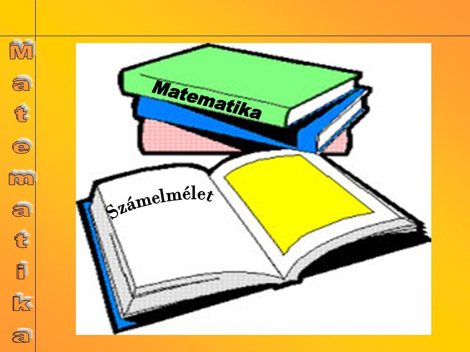 Számelmélet Matematika Matematika