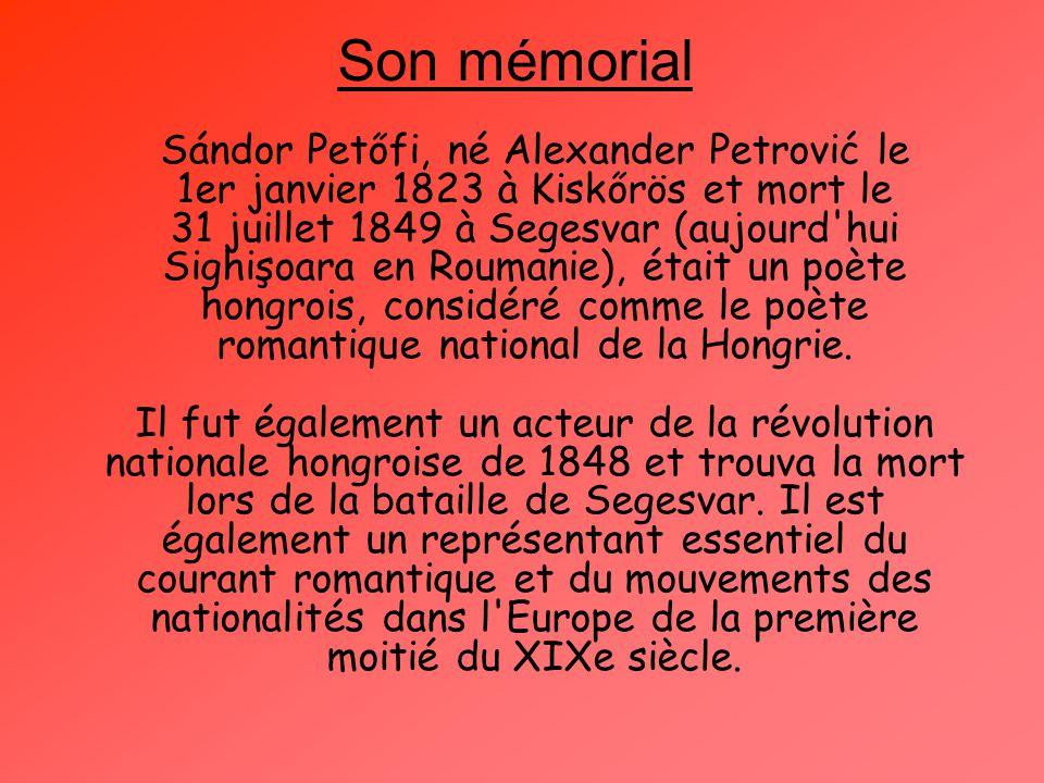 Son mémorial