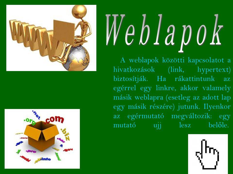 Weblapok