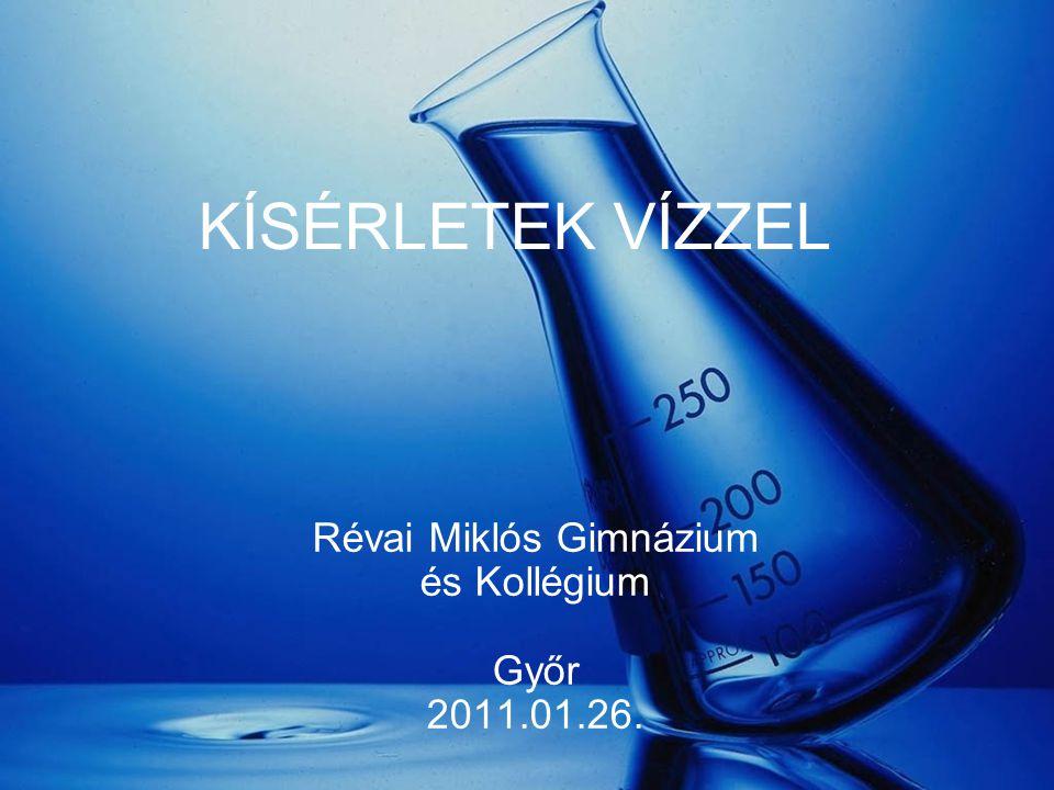 Révai Miklós Gimnázium és Kollégium Győr 2011.01.26.