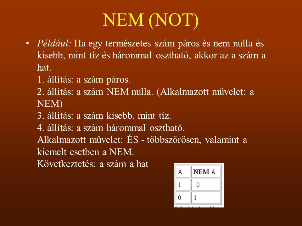 NEM (NOT)