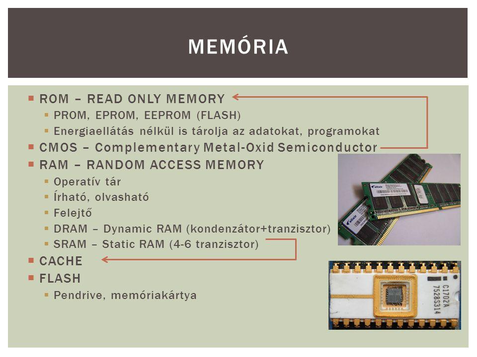 MEMÓRIA ROM – READ ONLY MEMORY