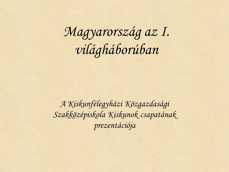 Magyarország az I. világháborúban